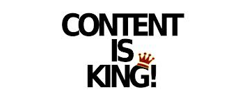 social media content strategy - content is king